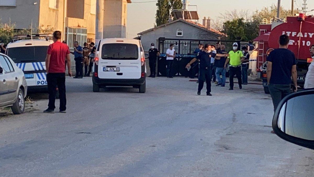 Konya da bir eve silahlı saldırı düzenlendi #4