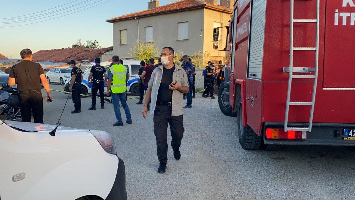 Konya da bir eve silahlı saldırı düzenlendi #3