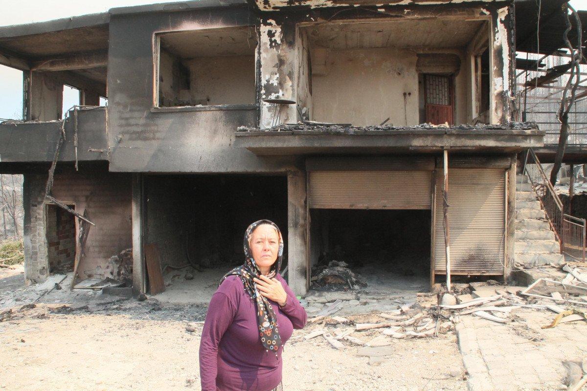Manavgat taki yangında feryat edenlerin yardımına koşuluyor #5