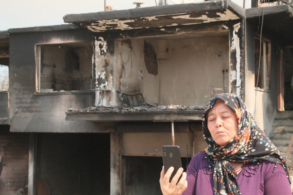Manavgat taki yangında feryat edenlerin yardımına koşuluyor #4