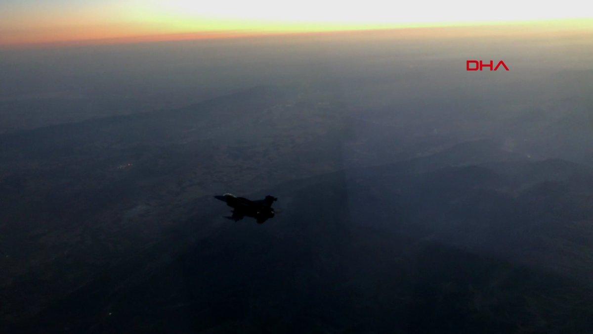 Irak ın kuzeyine hava harekatı düzenlendi #2