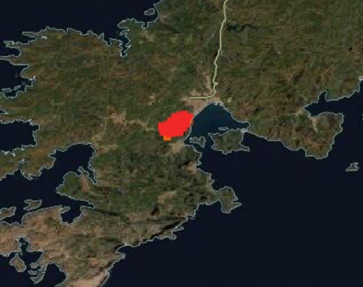 Türkiye deki orman yangınları NASA nın uydu görüntüsünde #4
