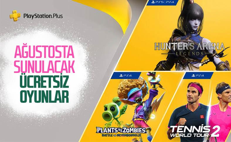 PlayStation Plus Ağustos 2021 ücretsiz oyunları