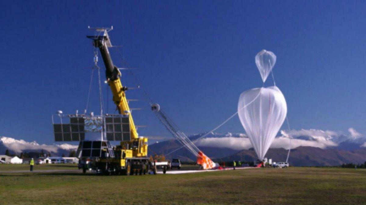 Yeni teleskop, stadyum büyüklüğündeki balonla uzaya gönderilecek