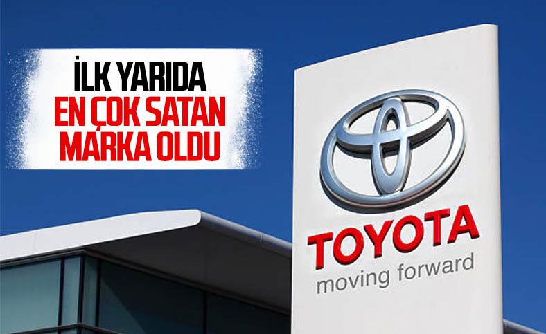 Toyota, yılın ilk yarısında en çok araç satan marka oldu