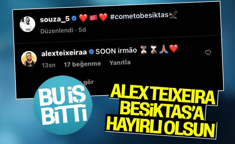 Alex Teixeira geliyorum mesajı verdi