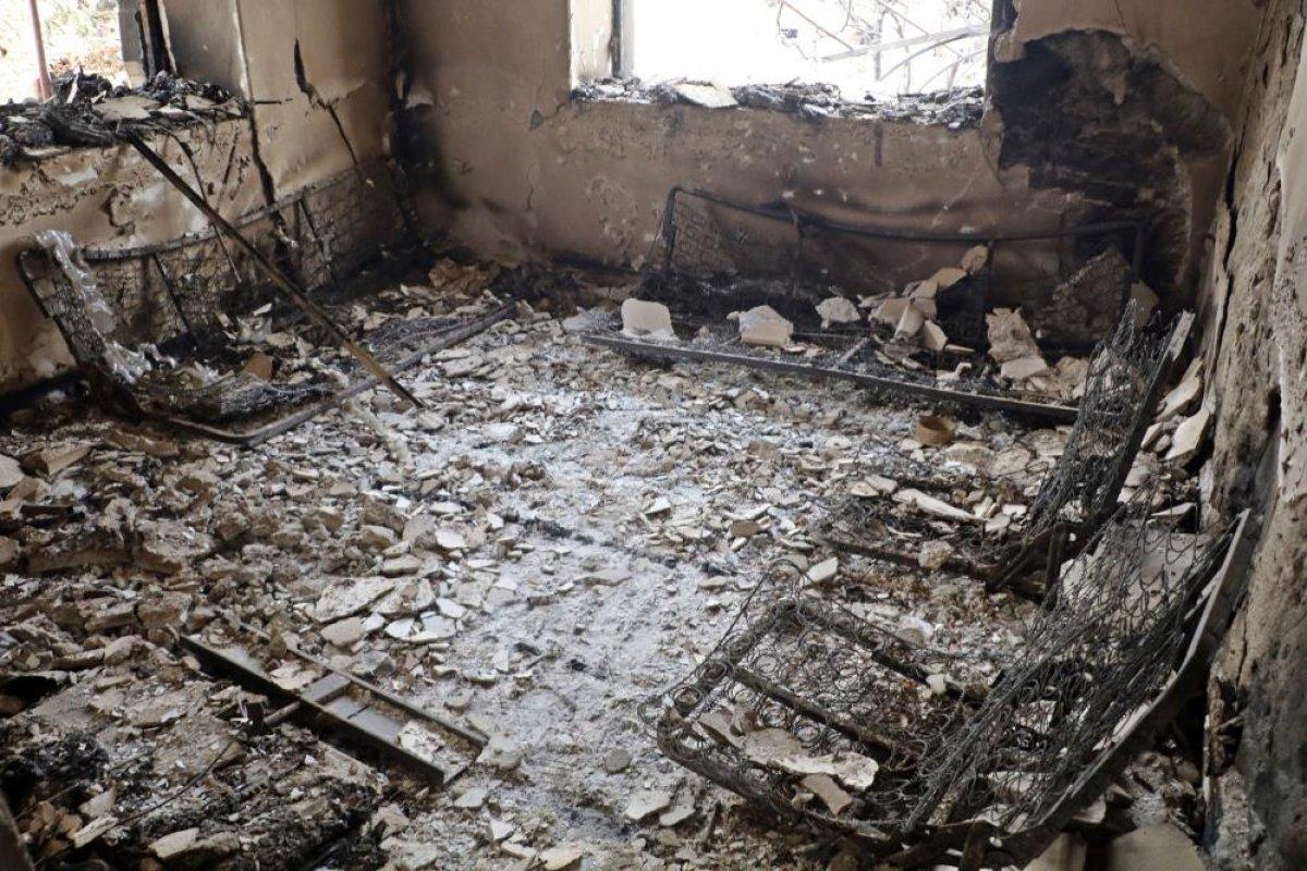 Aydıncık taki yangından etkilenenler yaşadıklarını anlattı #12