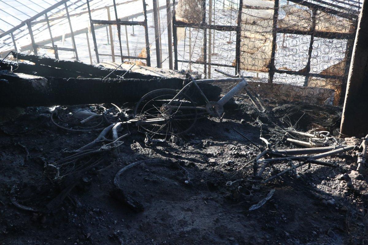 Aydıncık taki yangından etkilenenler yaşadıklarını anlattı #2