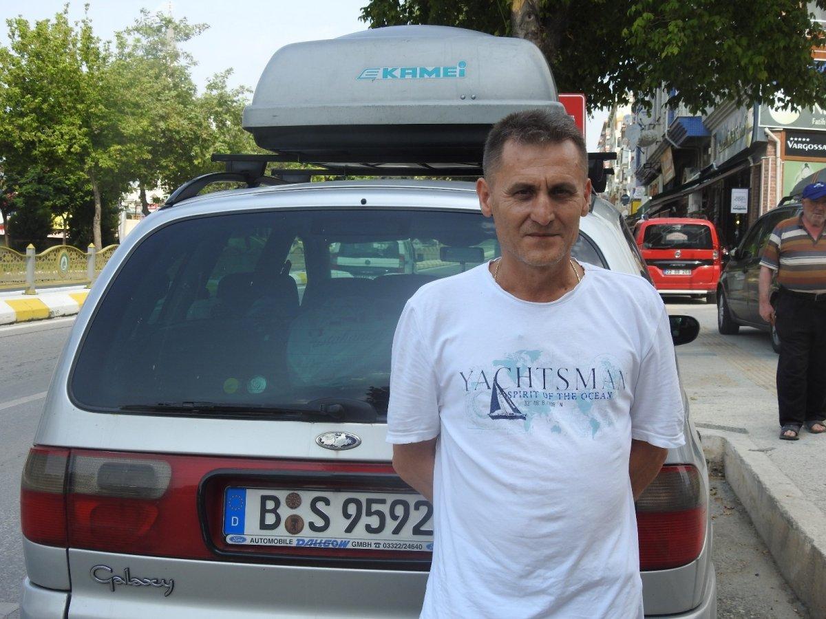 Edirne'de gurbetçilerden otellerde yer kalmadı #7