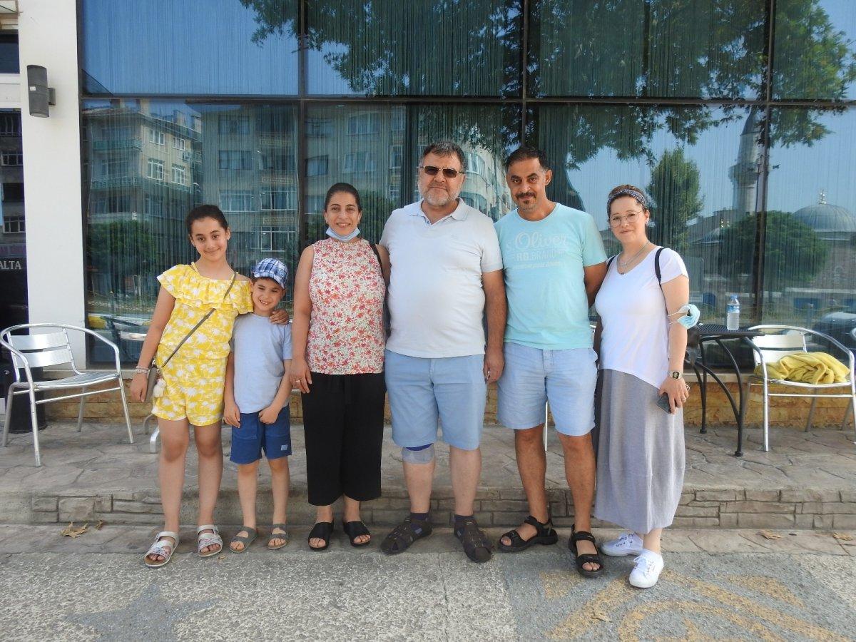 Edirne'de gurbetçilerden otellerde yer kalmadı #1