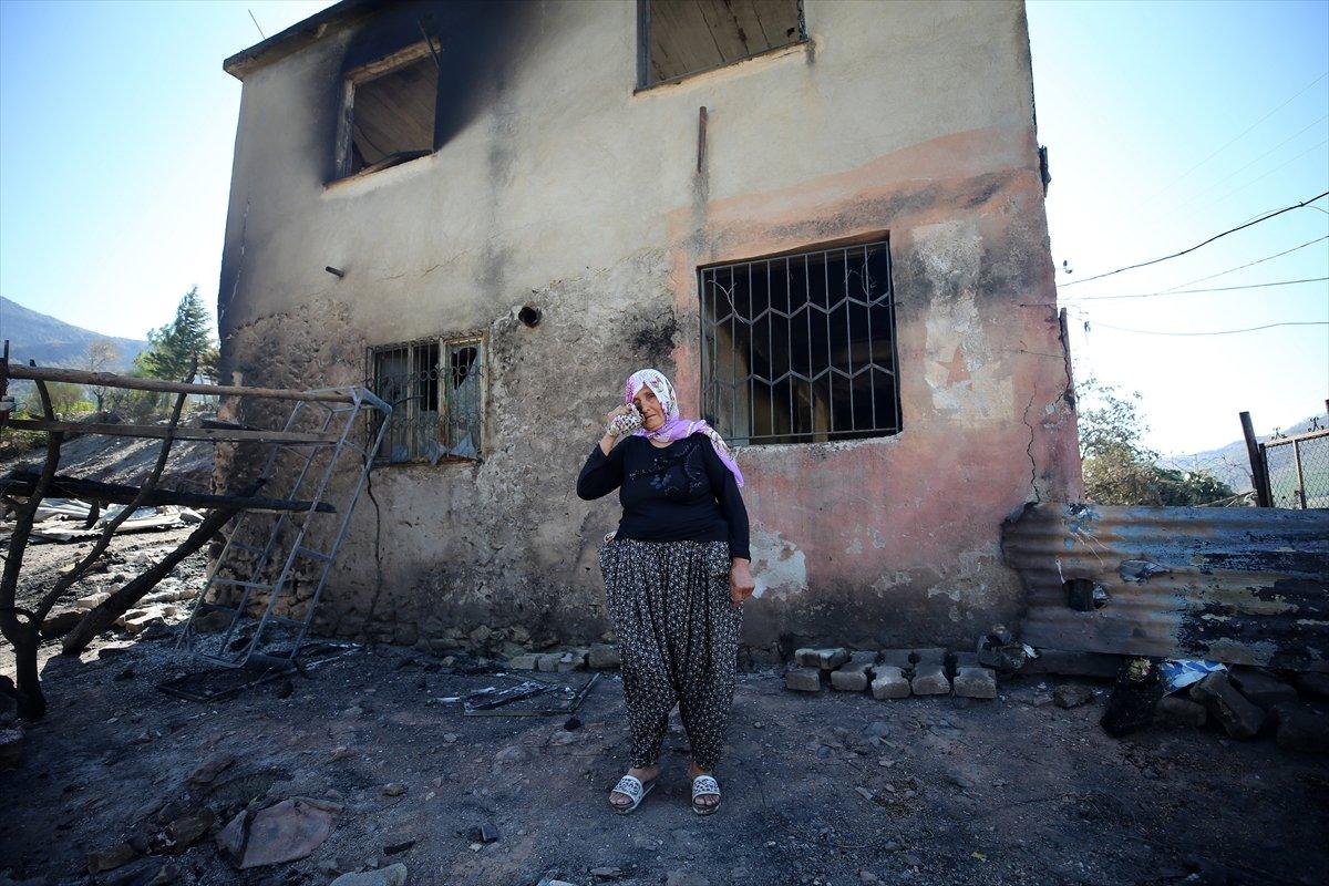 Kozan daki orman yangını kontrol altına alındı #1