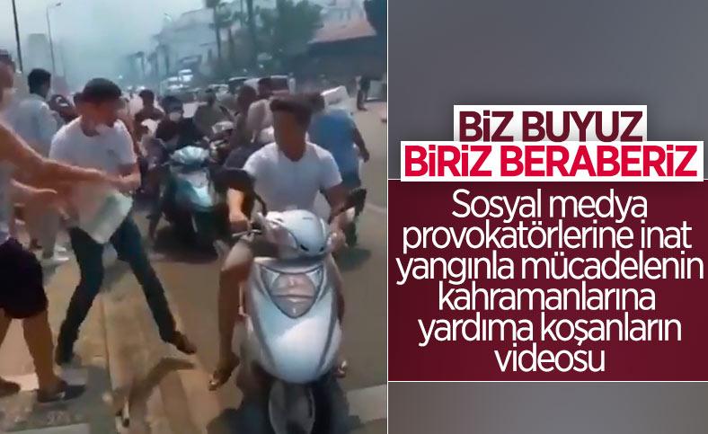 Türkiye'de yangınla mücadele: Vatandaşlar seferber oldu