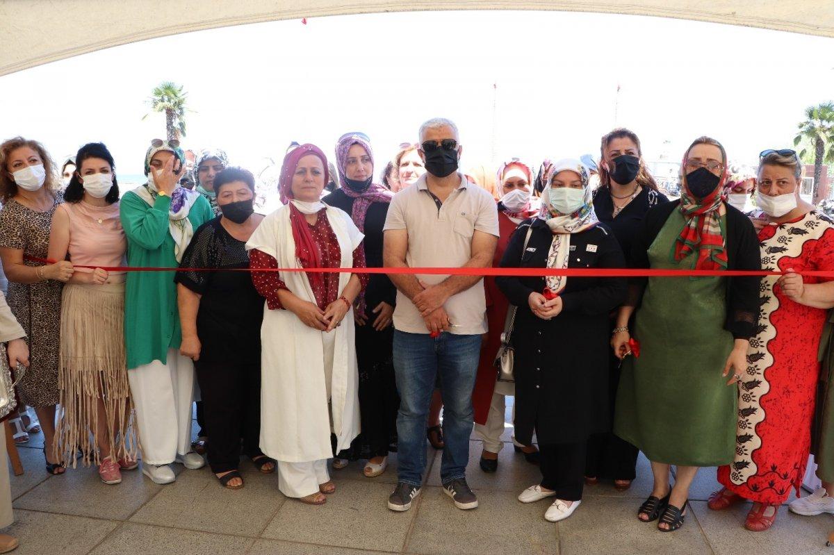 Samsun da kadınlar pandemide ürettiklerinden sergi açtı #2