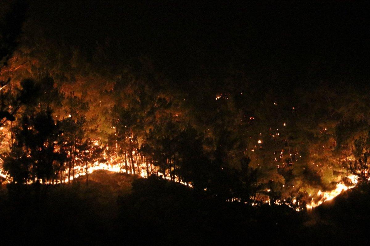 Manavgat ta 2 yangın işçisi hayatını kaybetti #1