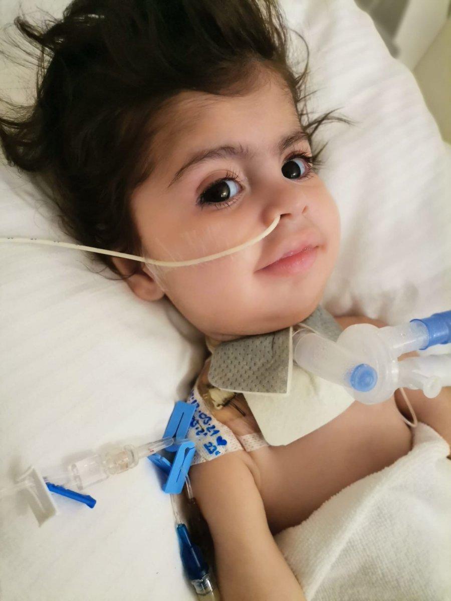 SMA hastası Kumsal bebek yardım eli bekliyor #1