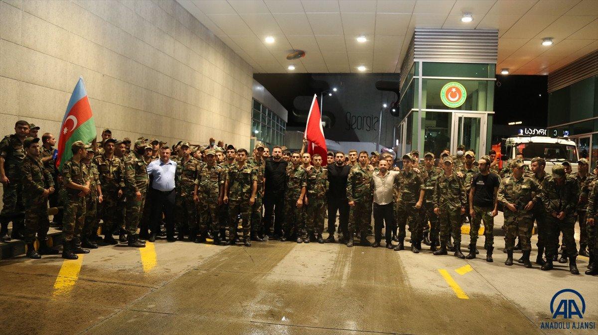 Azerbaycan dan yangınla mücadeleye destek ekibi geldi #9