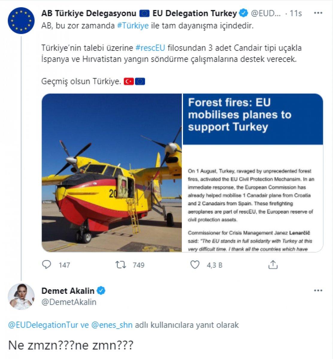 AB Türkiye Delegasyonu, Demet Akalın ın sorusunu cevapsız bırakmadı #3