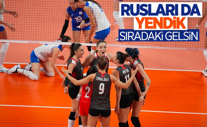 Filenin Sultanları, Tokyo 2020'de Rusya'yı 3-2 mağlup etti