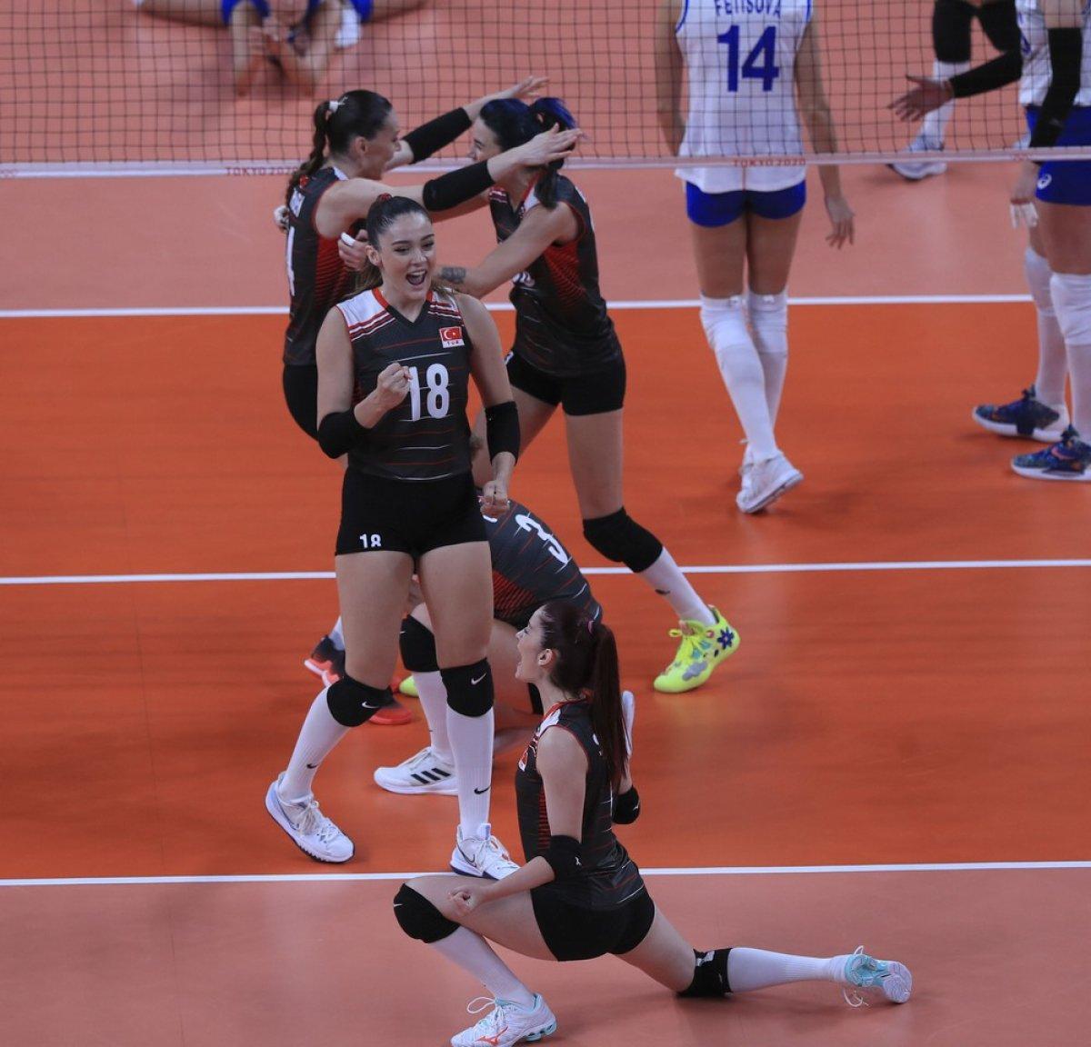 Filenin Sultanları, Tokyo 2020 de Rusya yı 3-2 mağlup etti #6