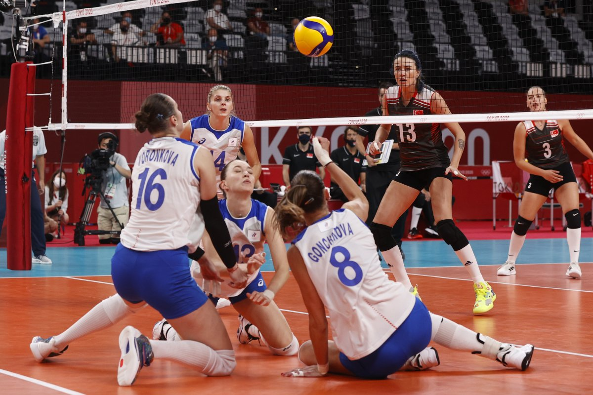 Filenin Sultanları, Tokyo 2020 de Rusya yı 3-2 mağlup etti #3