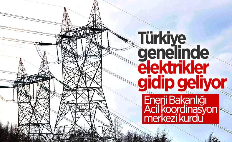 Yurt genelinde elektrik kesintisi