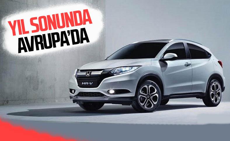 Yeni Honda HR-V, yıl sonunda Avrupa'ya geliyor