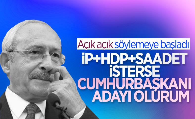 Kemal Kılıçdaroğlu: Millet İttifakı aday gösterirse Cumhurbaşkanı adayı olurum