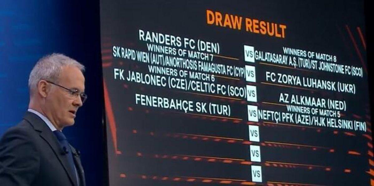 UEFA Avrupa Ligi play-off turunda Fenerbahçe ve Galatasaray ın rakipleri #2