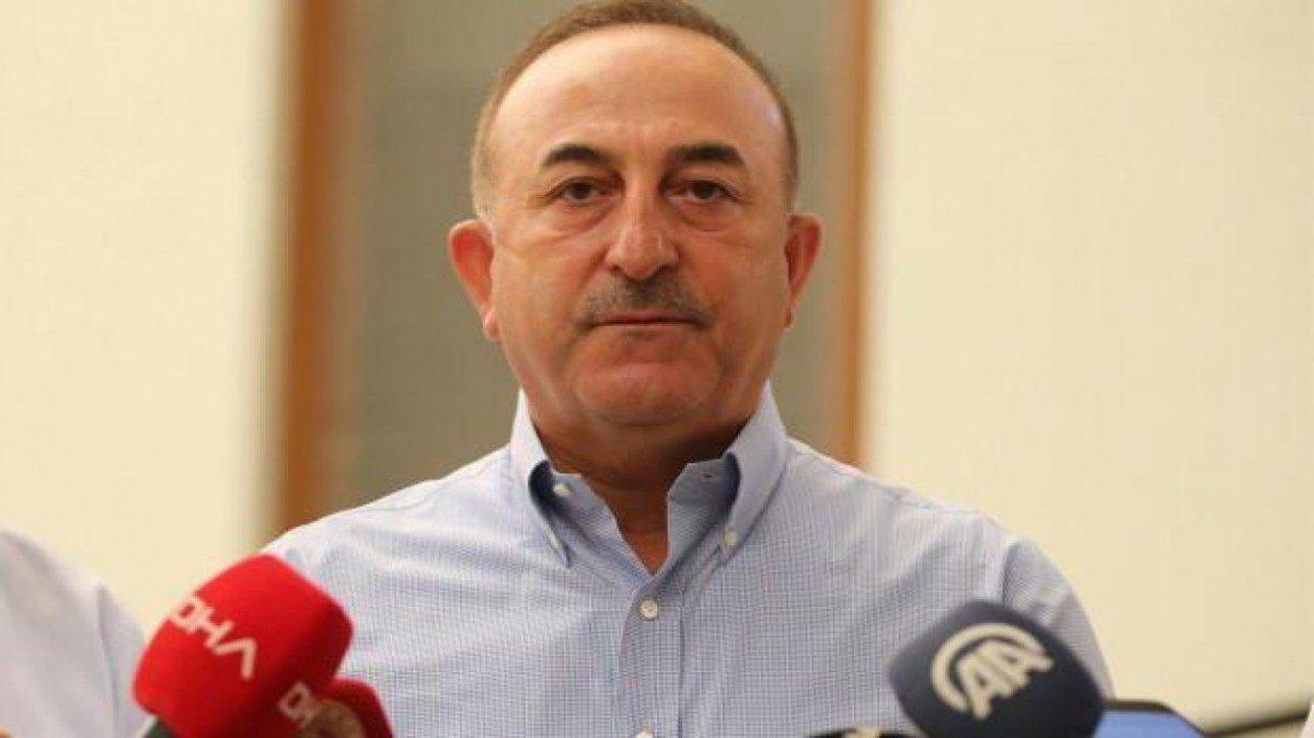 Mevlüt Çavuşoğlu, Muhittin Böcek in iddiasına cevap verdi  #1