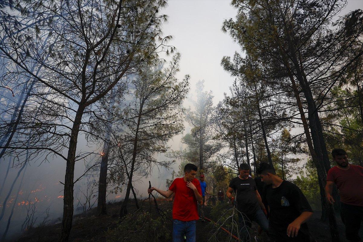 Türkiye de orman yangınlarının devam ettiği bölgeler #4