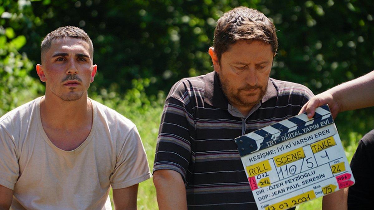 Abdülkadir Ömür, TRT nin  İyi Ki Varsın Eren  filminde rol aldı #2
