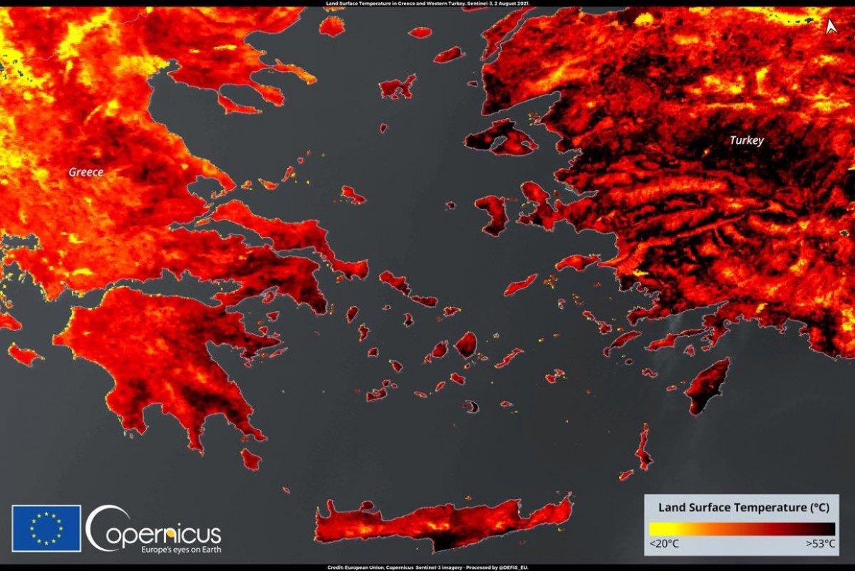 Doğu Akdeniz de sıcak hava dalgası etkili oluyor #1