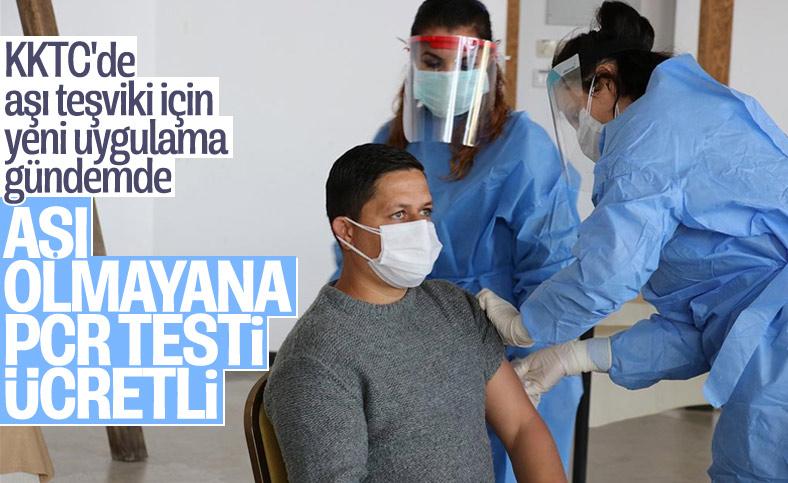 KKTC'de aşı olmayanlara PCR testi ücretli olacak