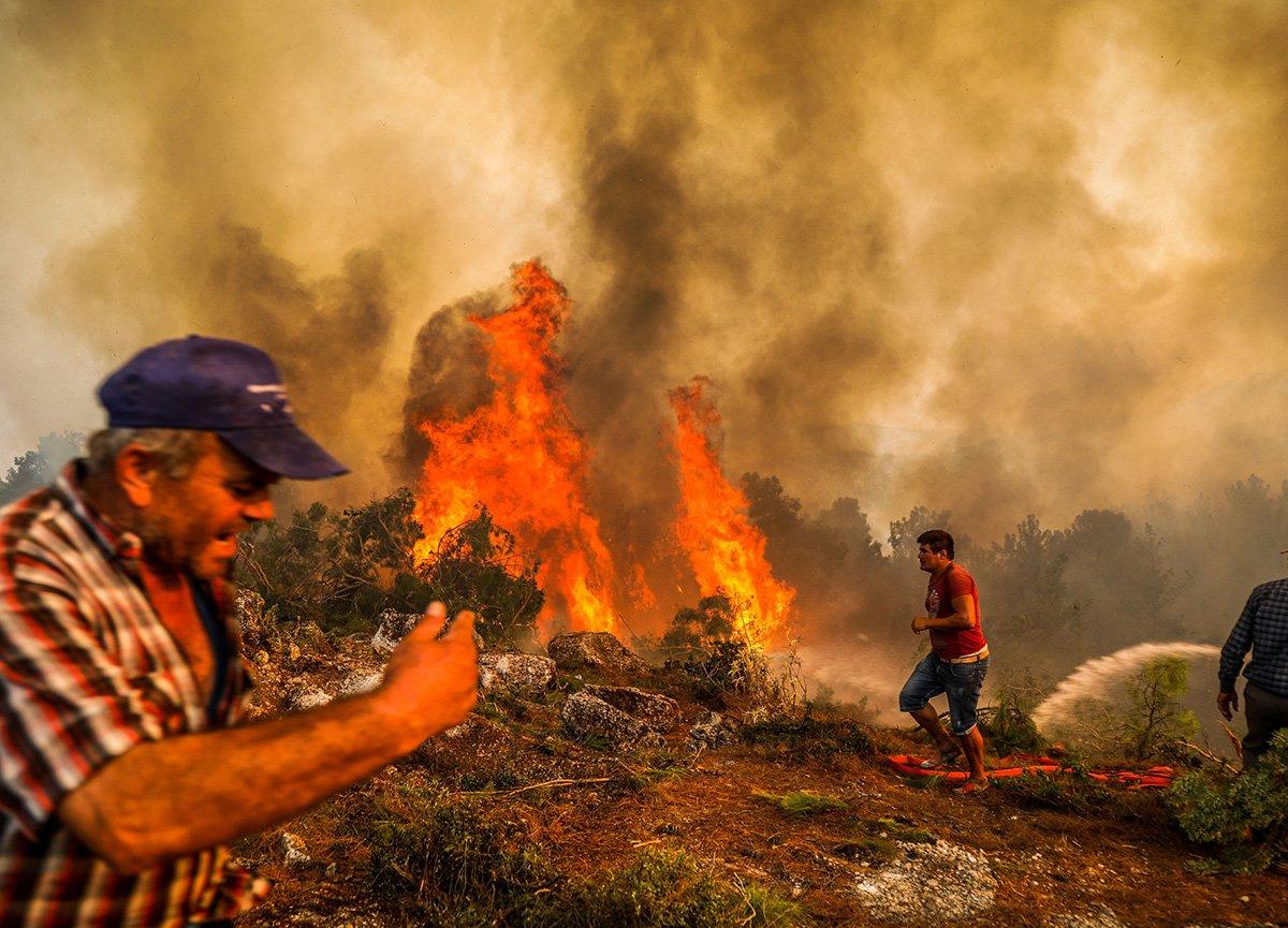 Manavgat taki yangınla ilgili 1 kişi tutuklandı  #1