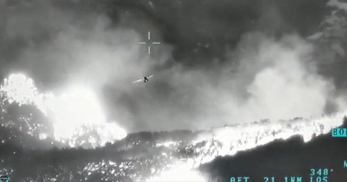 Orman yangınlarıyla mücadeleye insansız hava aracı desteği #1