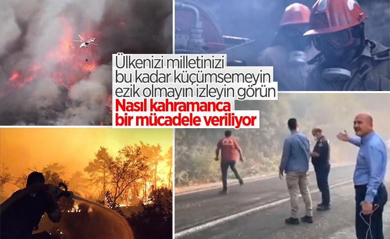 Türkiye'nin orman yangınlarıyla mücadelesi