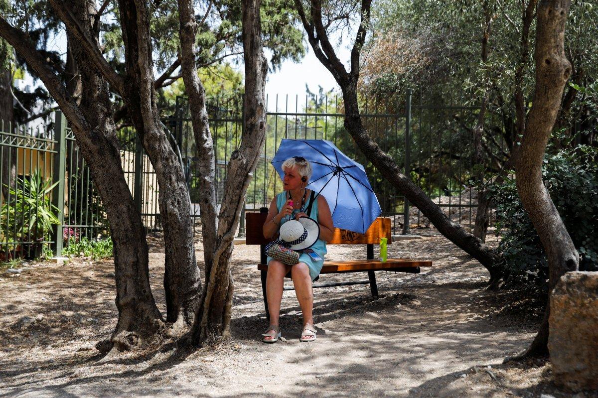 Yunanistan, aşırı sıcakların etkisi altında #4