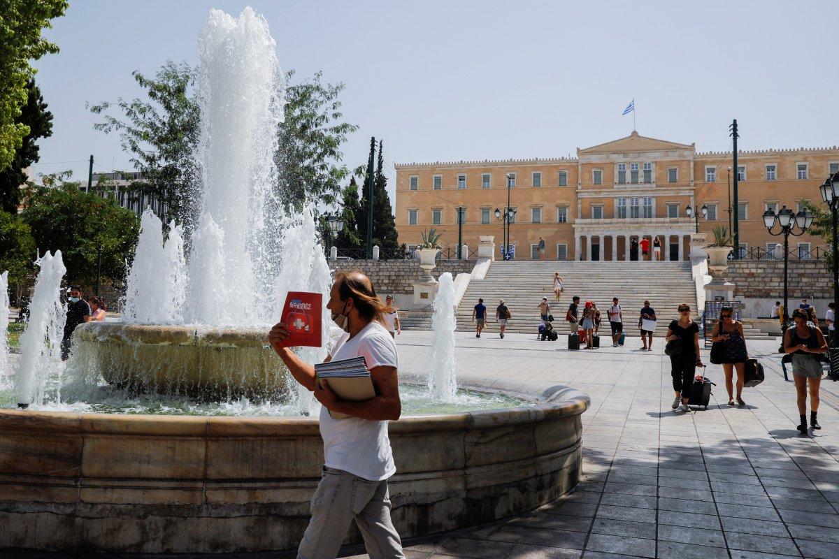 Yunanistan, aşırı sıcakların etkisi altında #2