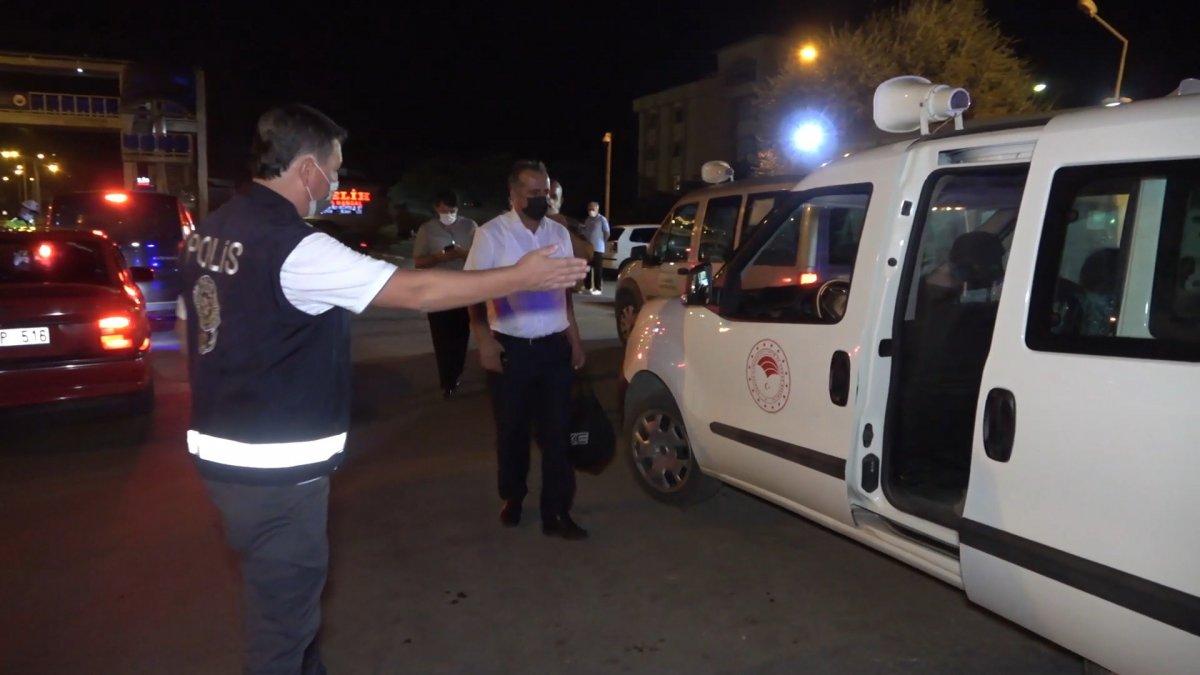Kırıkkale de koronalı şoför direksiyon başında yakalandı #1