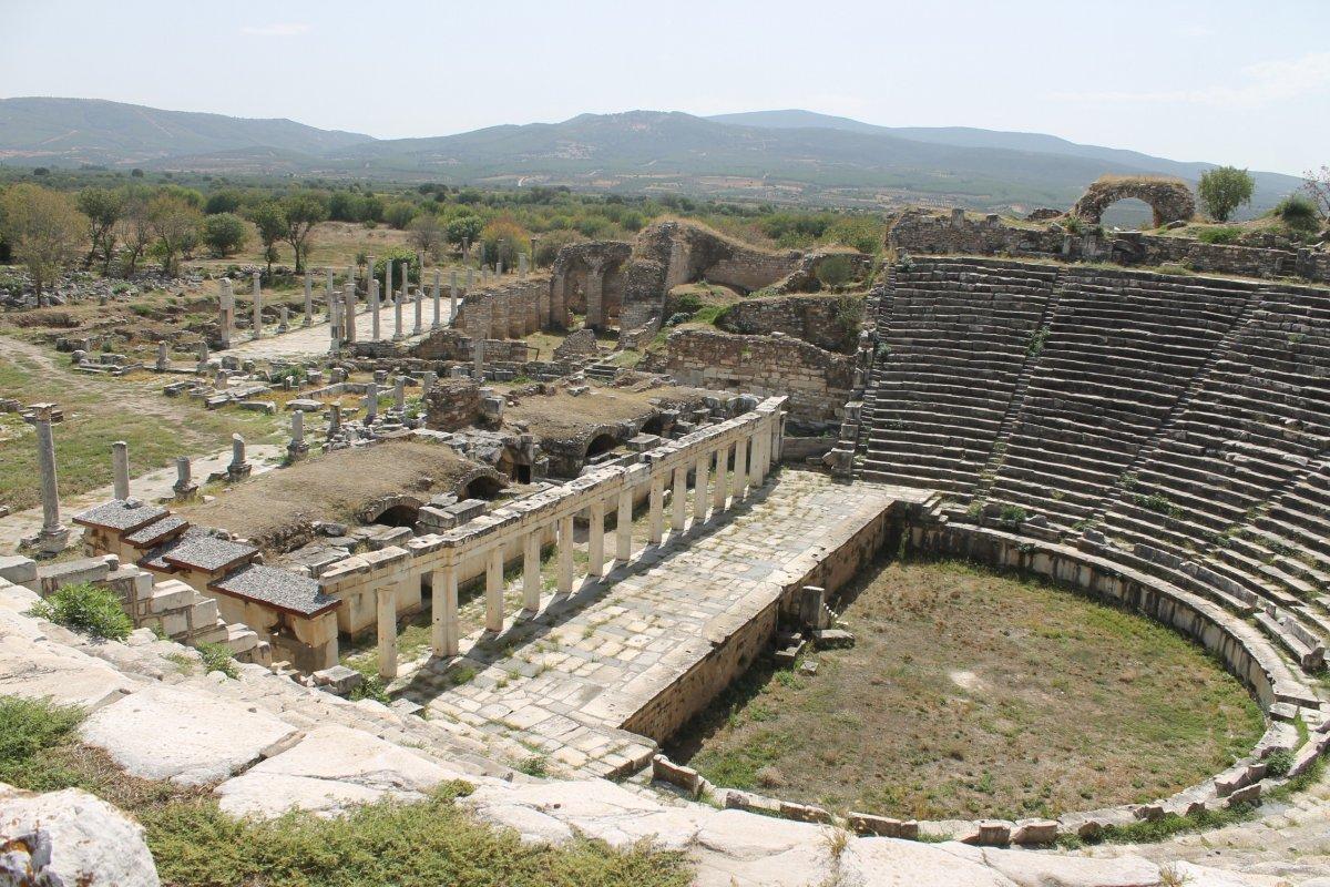 Aydın da Dünya Mirası Listesi'ndeki Afrodisias Antik Kenti ne tedbir alındı #2