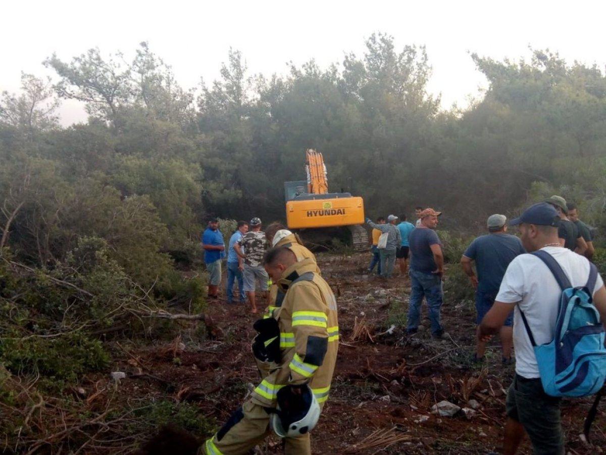 TSK yangın bölgelerine takviyelerini sürdürüyor #7