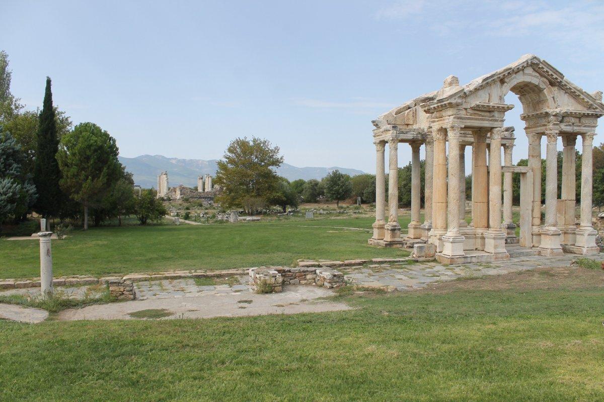 Aydın da Dünya Mirası Listesi'ndeki Afrodisias Antik Kenti ne tedbir alındı #1