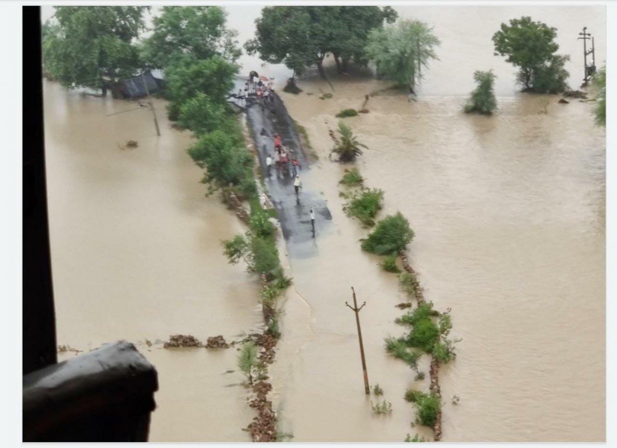 Hindistan da sel felaketi: 15 ölü #2