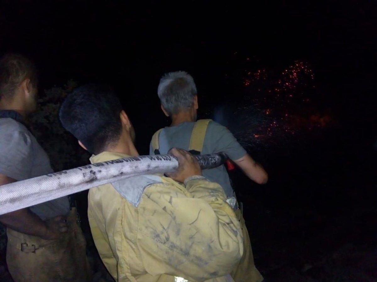 TSK yangın bölgelerine takviyelerini sürdürüyor #6