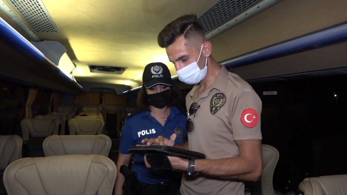 Kırıkkale de koronalı şoför direksiyon başında yakalandı #2