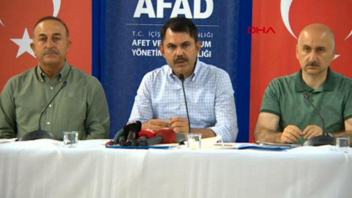 Mevlüt Çavuşoğlu, yurt dışından gelecek yardım uçaklarını açıkladı #1