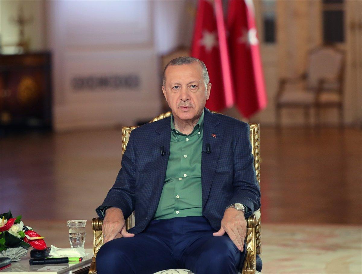 Cumhurbaşkanı Erdoğan: Tutuklananların ailelerinde PKK bağlantısı var #1