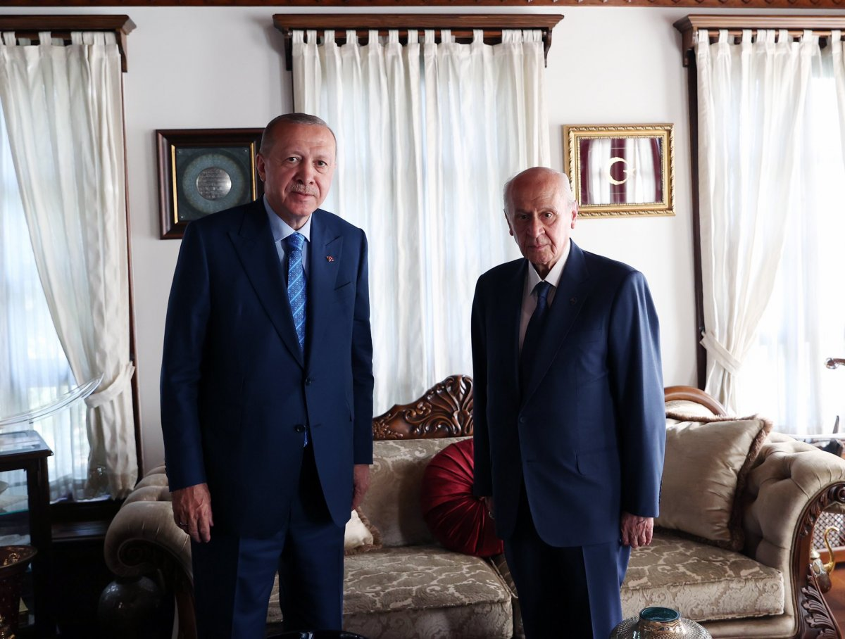 Cumhurbaşkanı Erdoğan dan Devlet Bahçeli ye ziyaret  #1