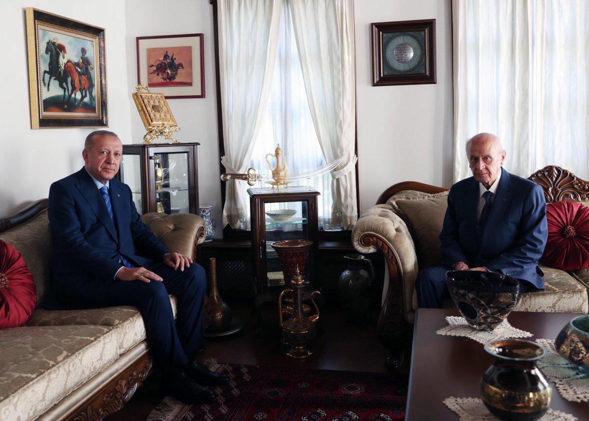 Cumhurbaşkanı Erdoğan dan Devlet Bahçeli ye ziyaret  #2