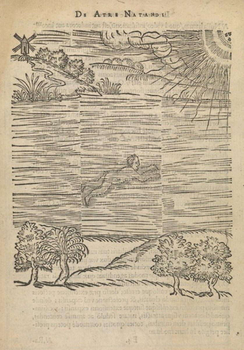 Tarihte yüzme ile ilgili yazılan ilk kitap: Yüzme Sanatı #1